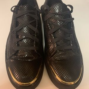 Zara men snake skin sneakers